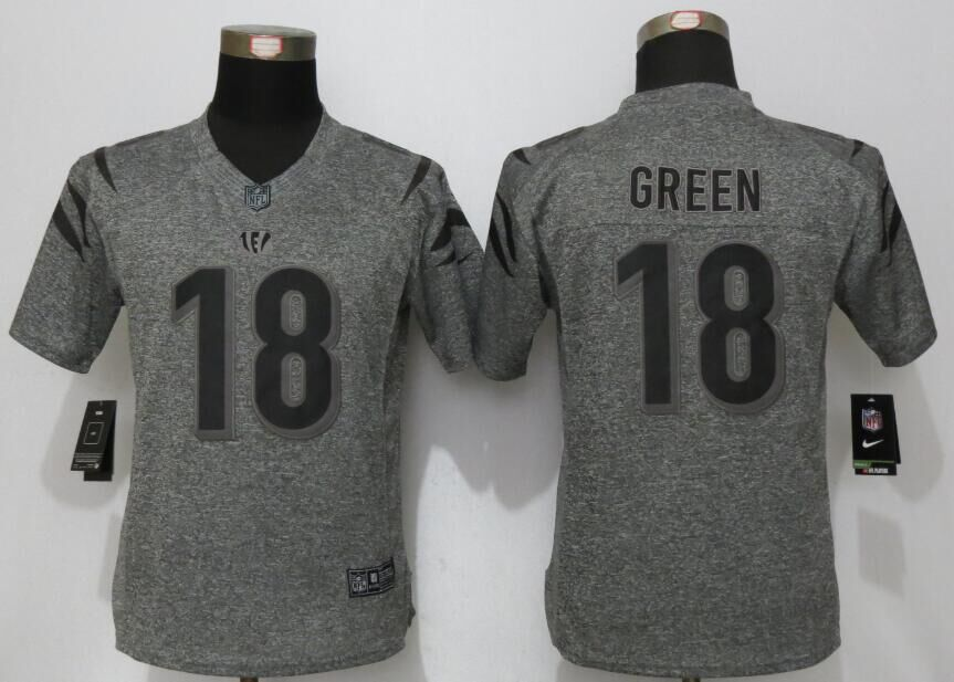 womens-cincinnati-bengals-18-green-gray-stitched-gridiron-gray-new-nike-limited-jersey