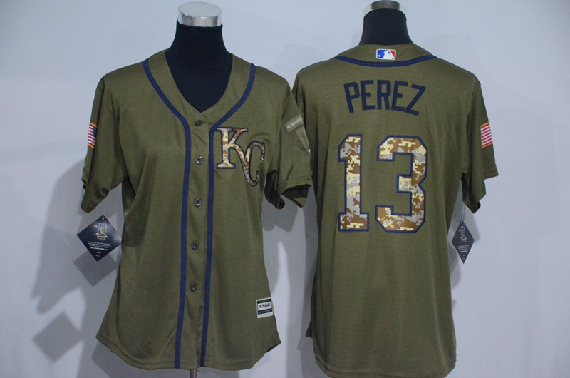 womens-2017-mlb-kansas-city-royals-13-perez-green-salute-to-service-stitched-baseball-jersey