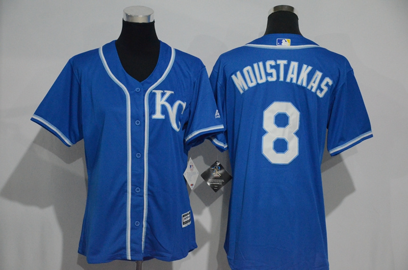 womens-2017-mlb-kansas-city-royals-8-moustakas-blue-jerseys