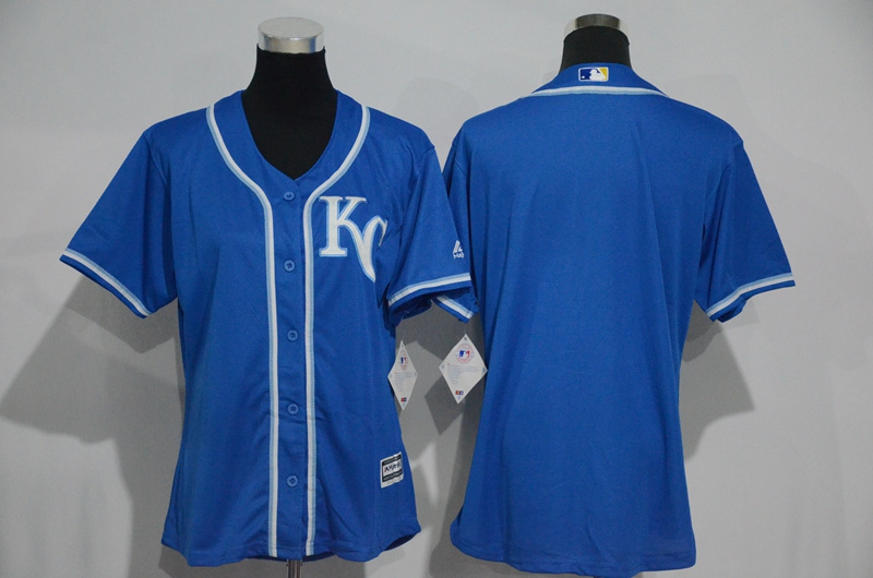 womens-2017-mlb-kansas-city-royals-blank-blue-jerseys